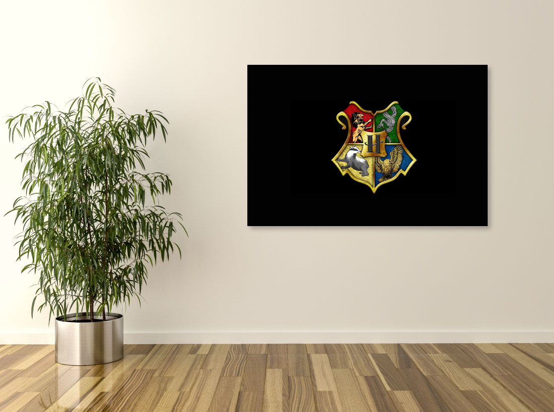 Tablou Filme Harry Potter - Casele Hogwarts - Pepanza.ro