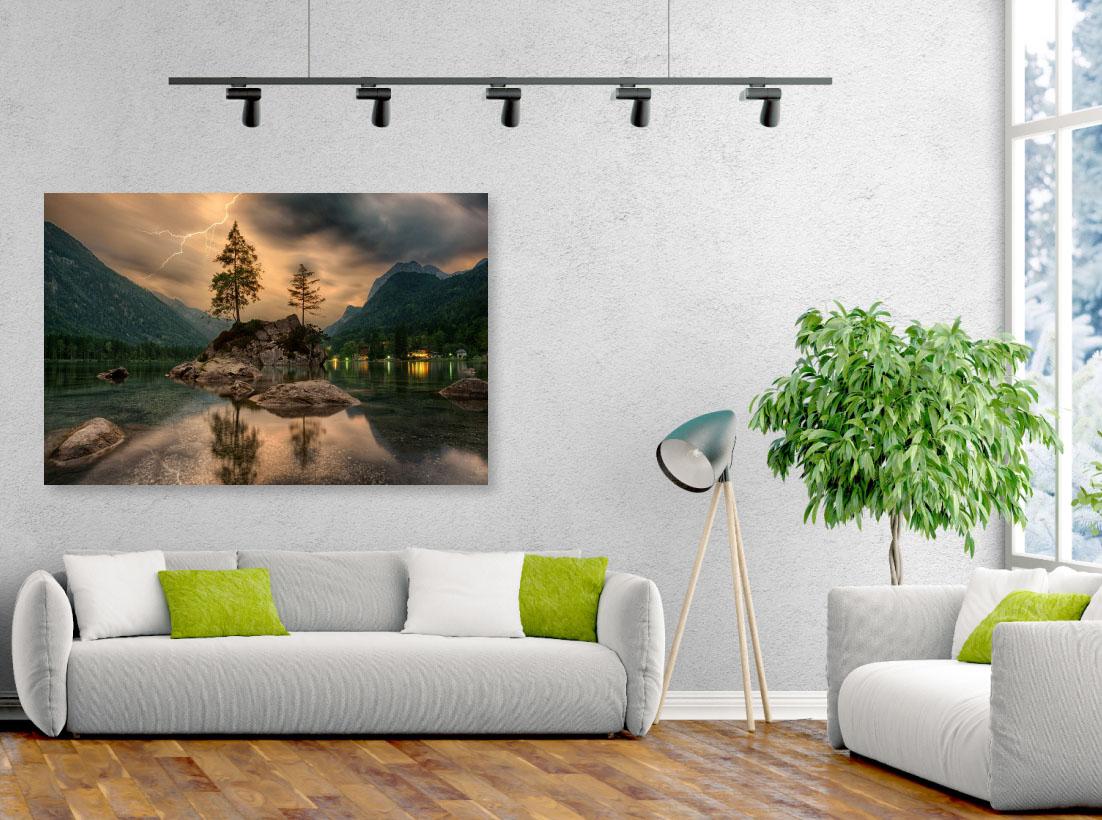 Tablou canvas Furtună în natură - Pepanza.ro
