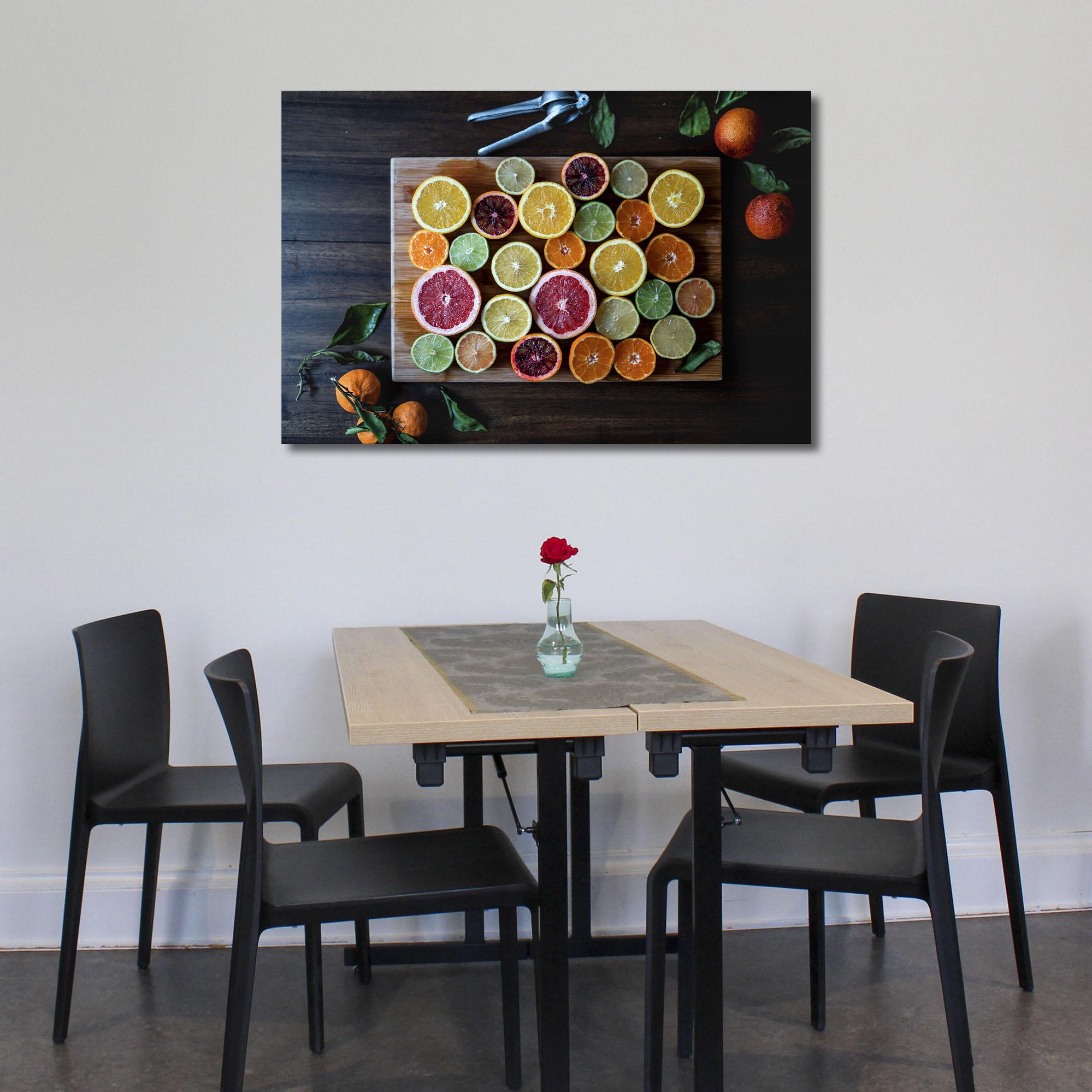 Tablou canvas Citrice colorate - Pepanza.ro