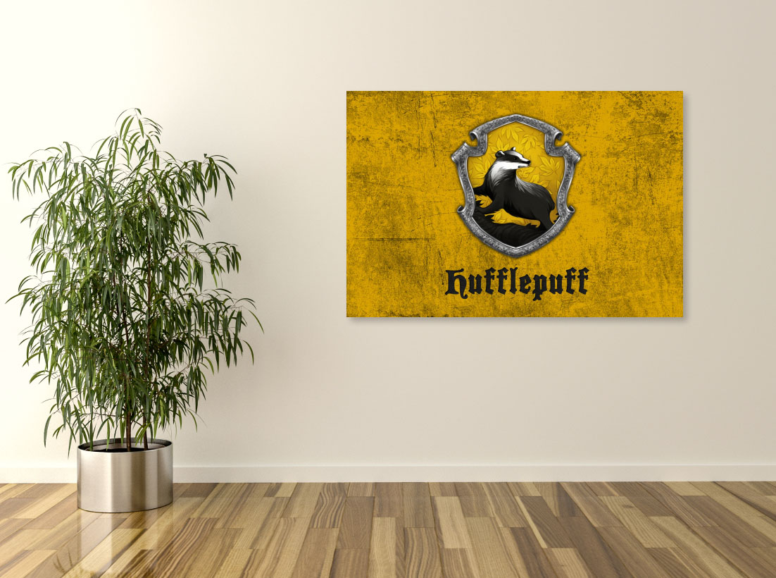 Tablou Filme Harry Potter Hufflepuff - Pepanza.ro