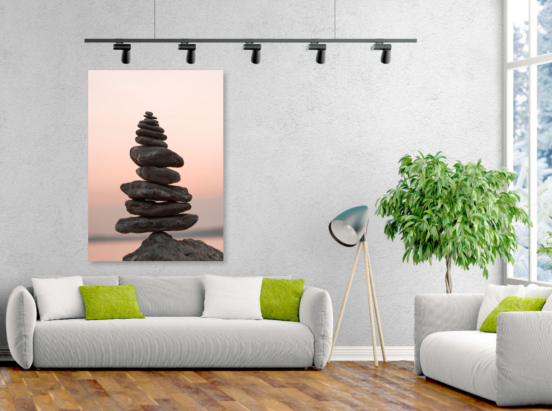 Tablou canvas Pietre in Echilibru - Pepanza.ro