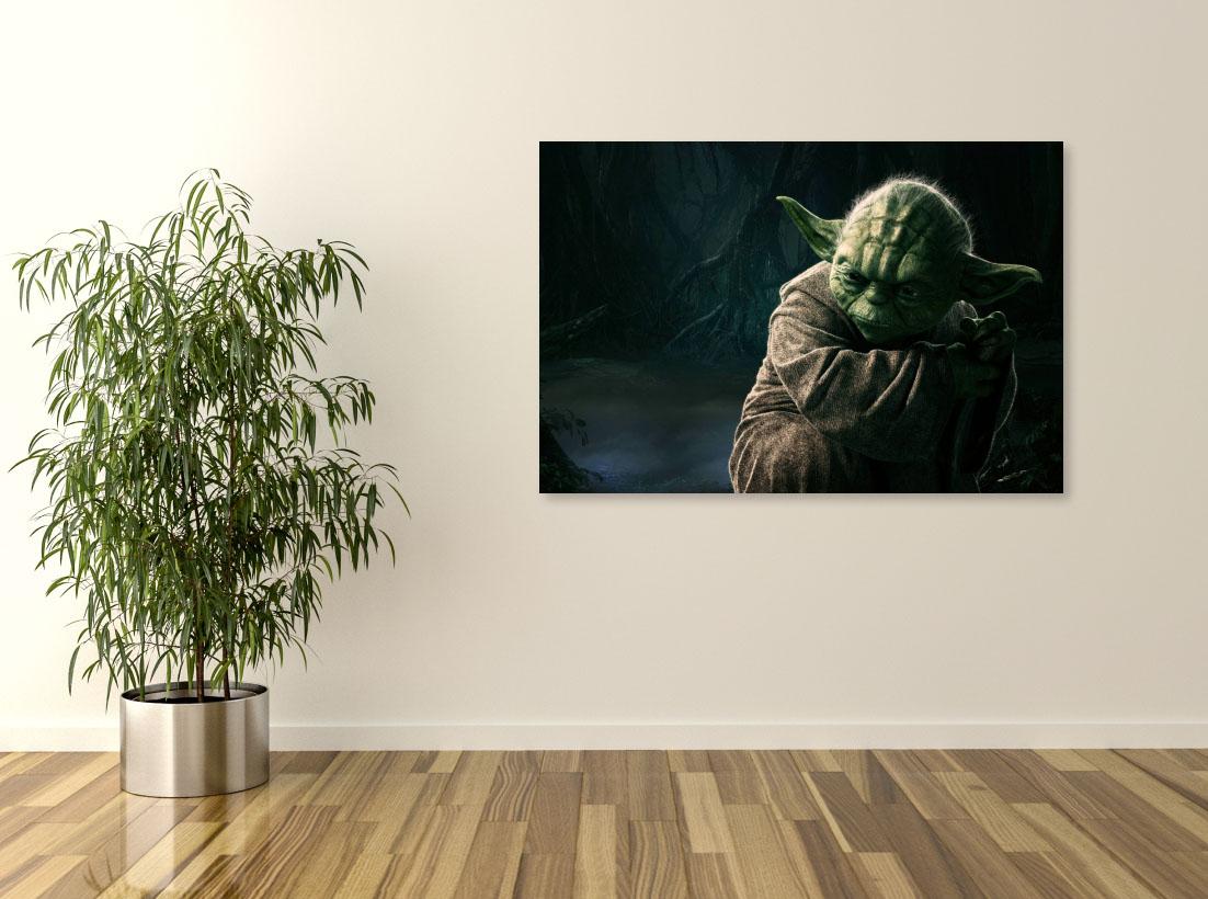 Tablou Filme Star Wars, Yoda - Pepanza.ro