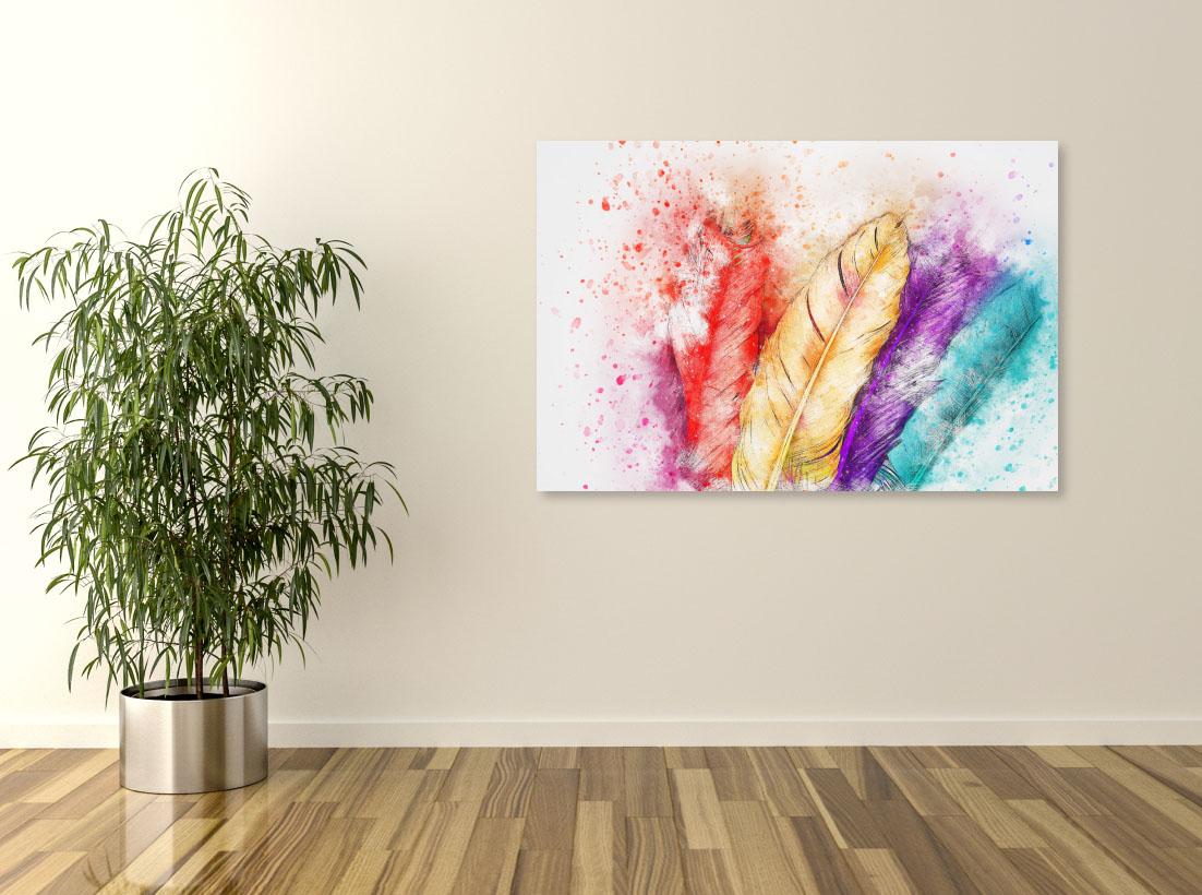 Tablou canvas Pene colorate - Pepanza.ro