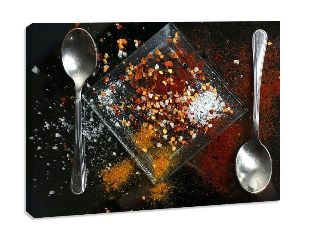 Tablou canvas Condimente