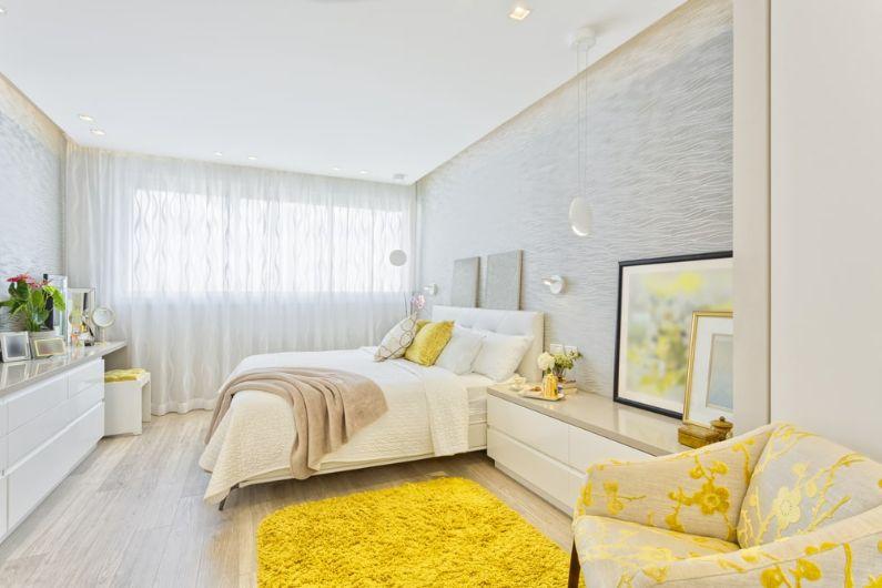 2. Culori pentru un dormitor feng shui galben