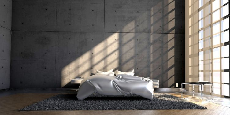 2. Culori pentru un dormitor în stil feng shui gri