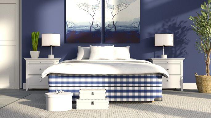 2. culori pentru dormitor - albastru