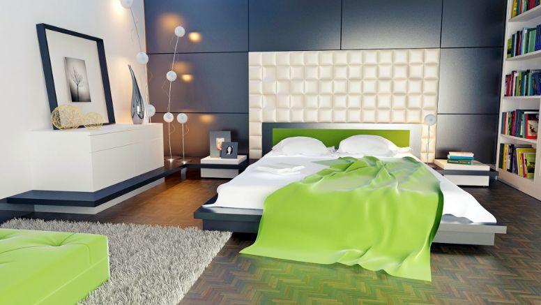 2. culori pentru un dormitor feng shui - verde
