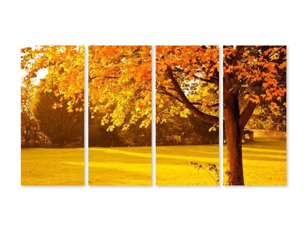 Tablou cu 4 piese Autumn
