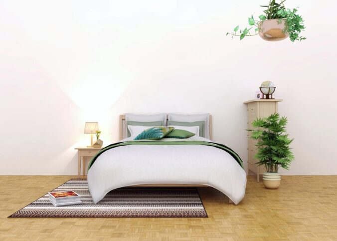 Dormitor in stil feng shui