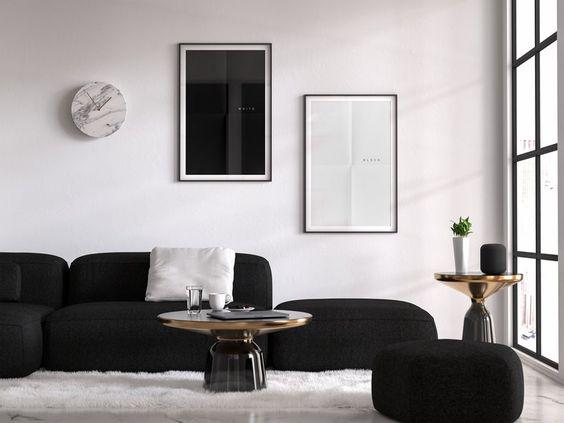 Culori living stil minimalist