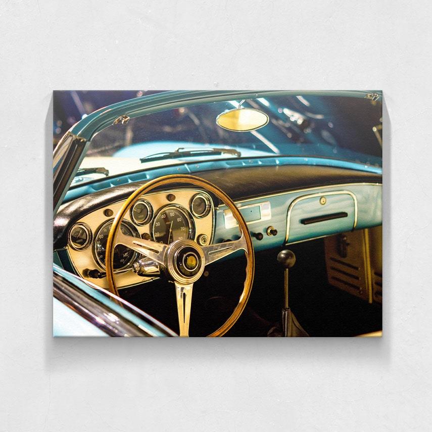 tablou masina vintage-min