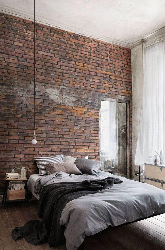 Amenajare dormitor industrial