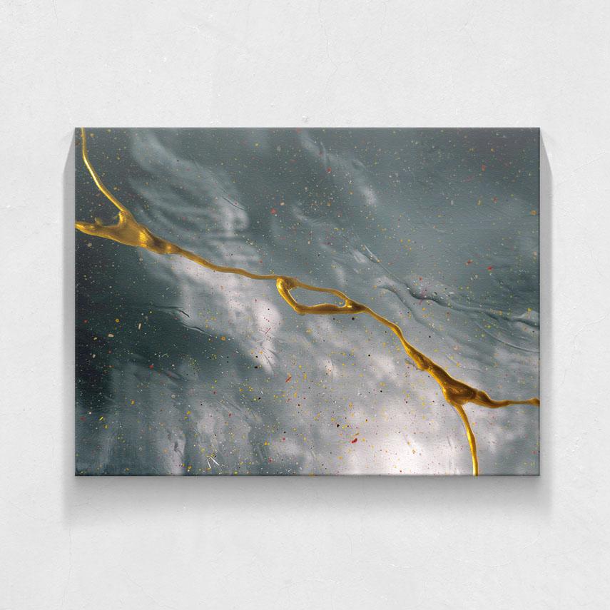 Tablou canvas gri