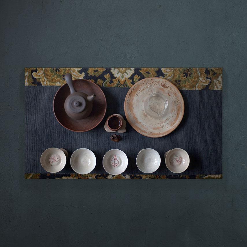 Tablou bucatarie ceai