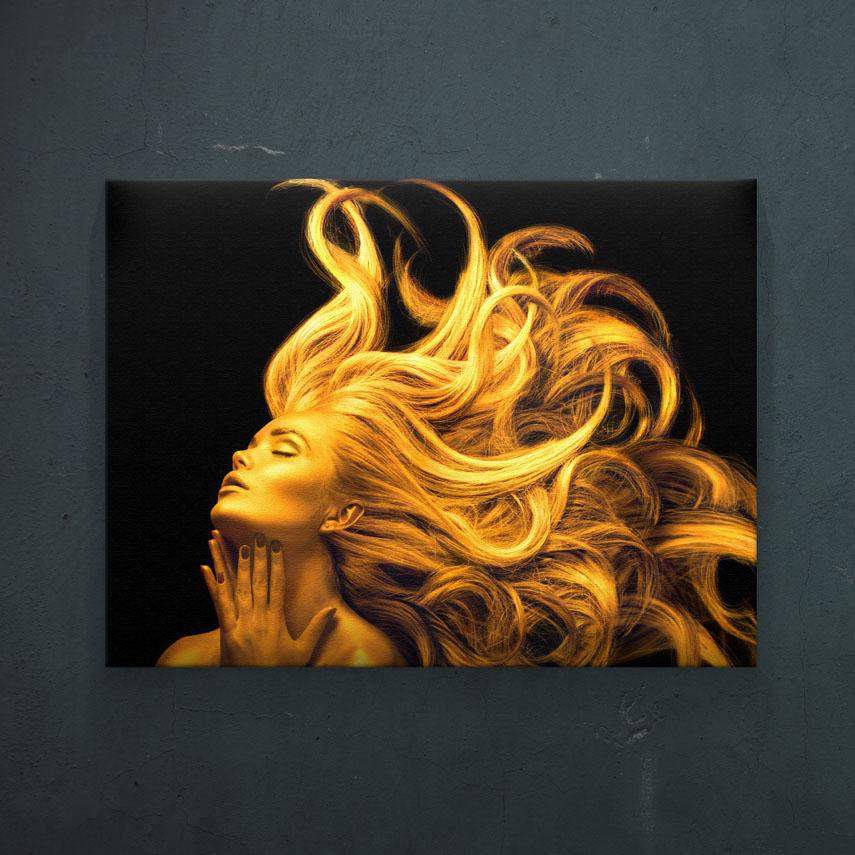 Golden Hair- Pepanza.ro