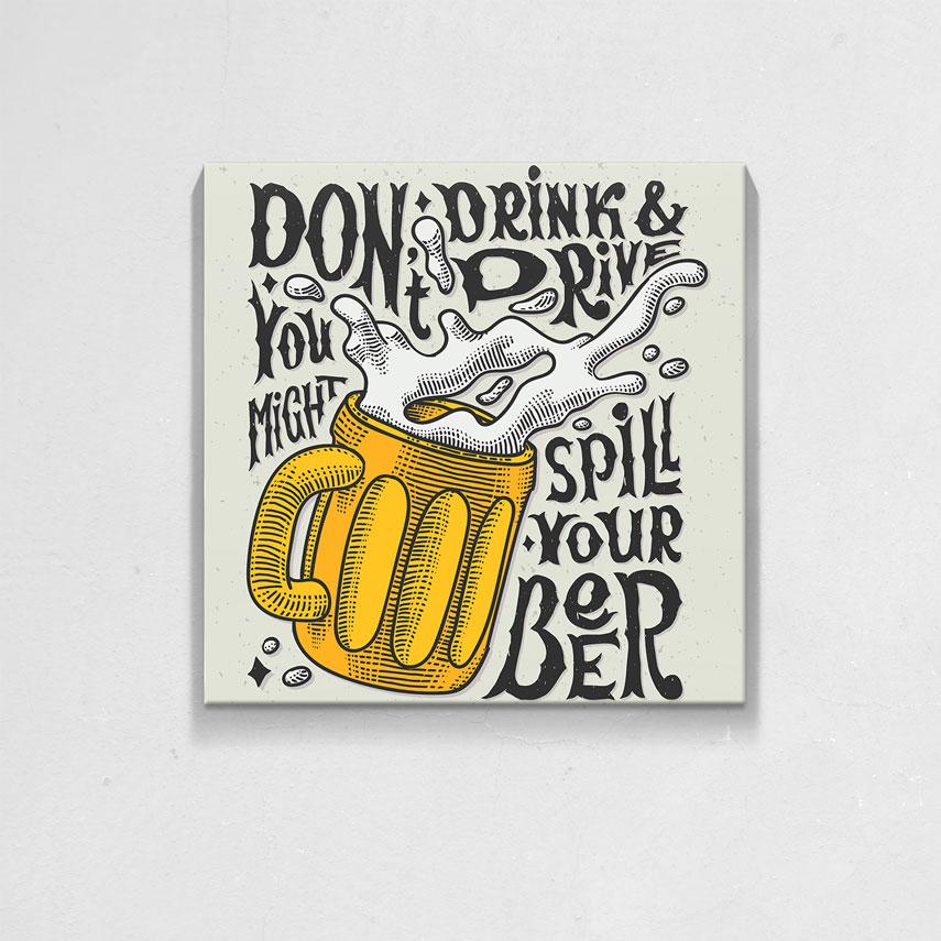 Spill your beer- Pepanza.ro