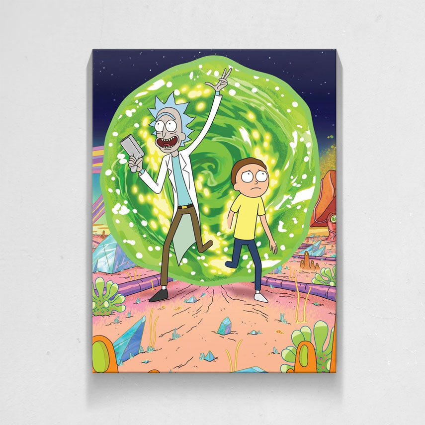Rick and Morty - Space- Pepanza.ro