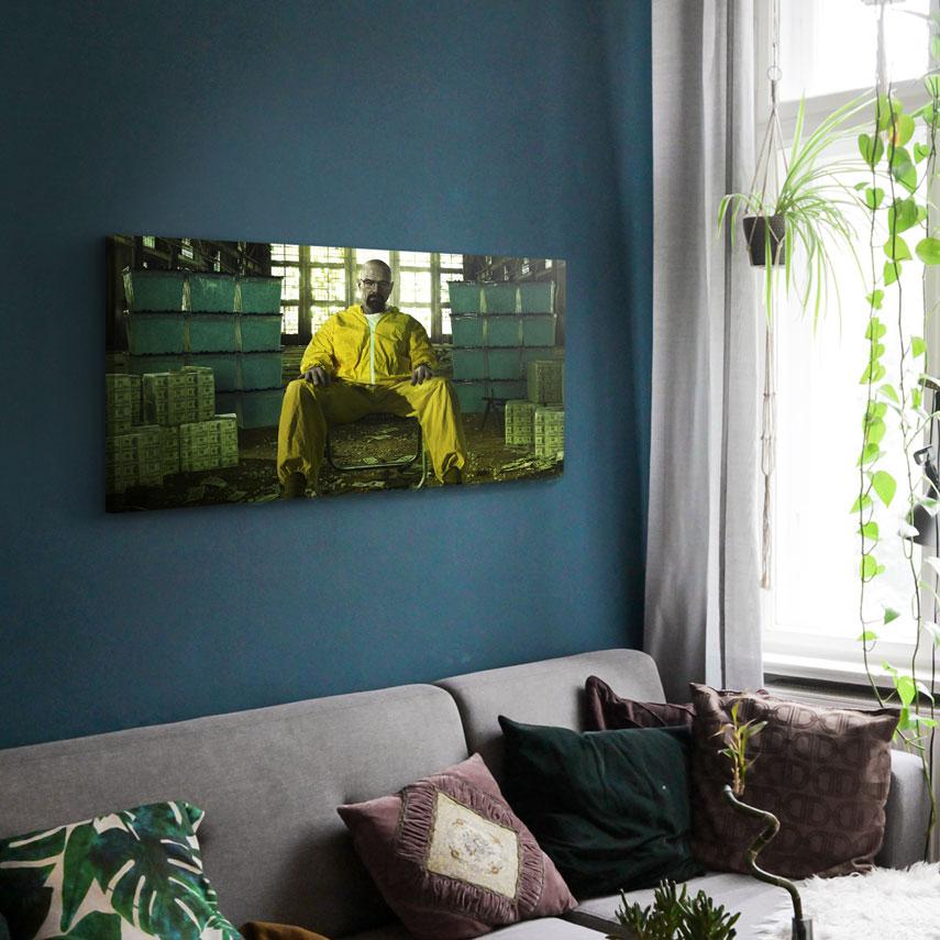 Tablou Filme Breaking Bad, Walter White - Pepanza.ro