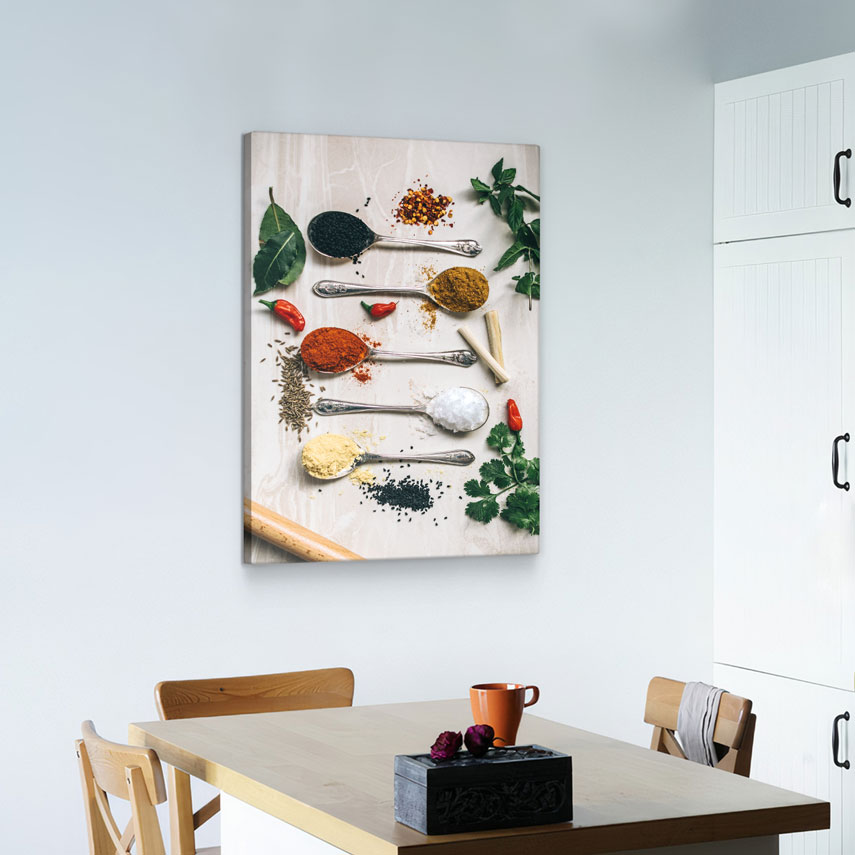 Tablou canvas Spoons with spices - Pepanza.ro