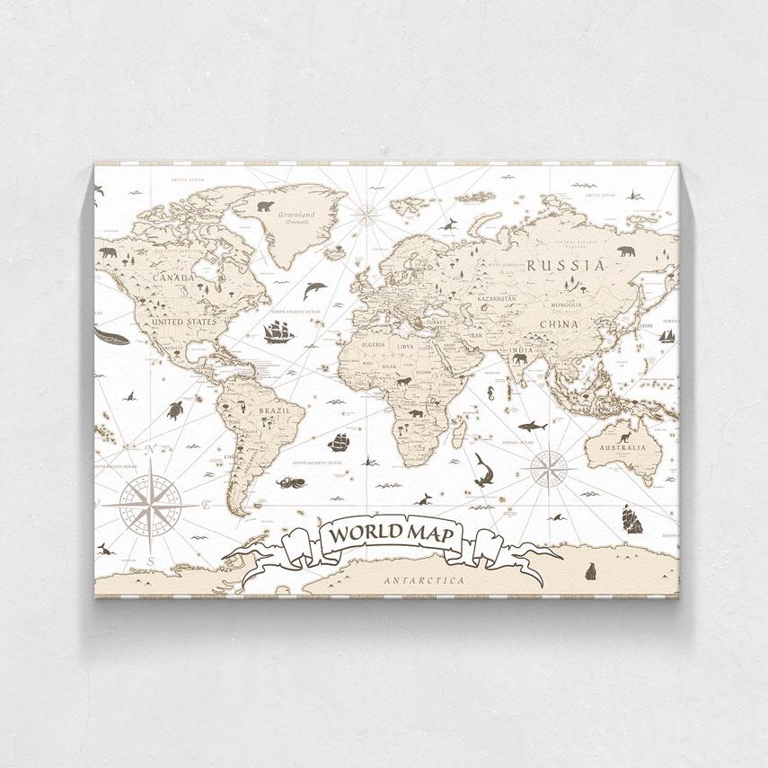 World map- Pepanza.ro
