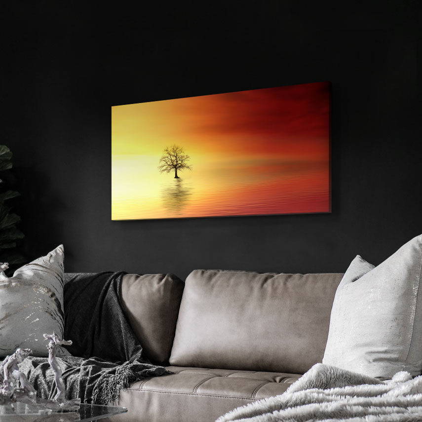 Tablou canvas Copac în apă - Pepanza.ro