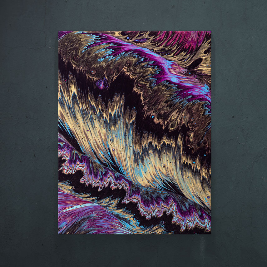 Purple illusion- Pepanza.ro