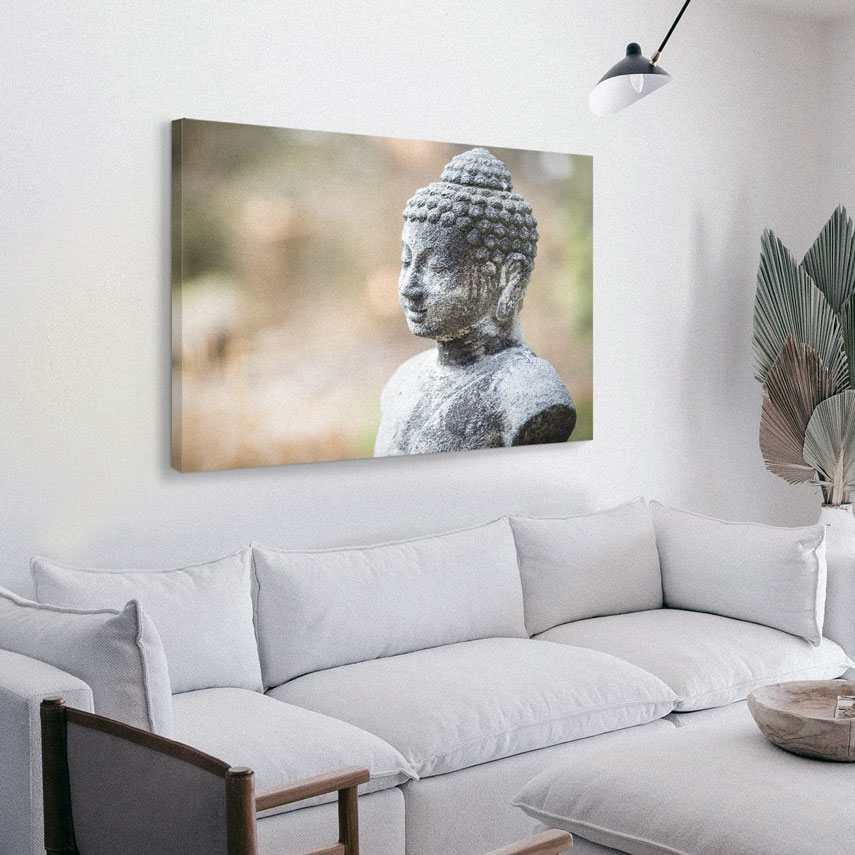 Tablou canvas Statuie Buddha - Pepanza.ro