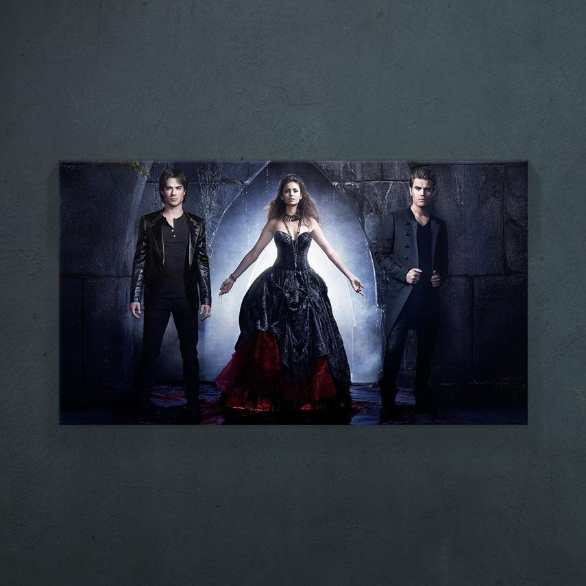 The Vampire Diares - Main Characters- Pepanza.ro