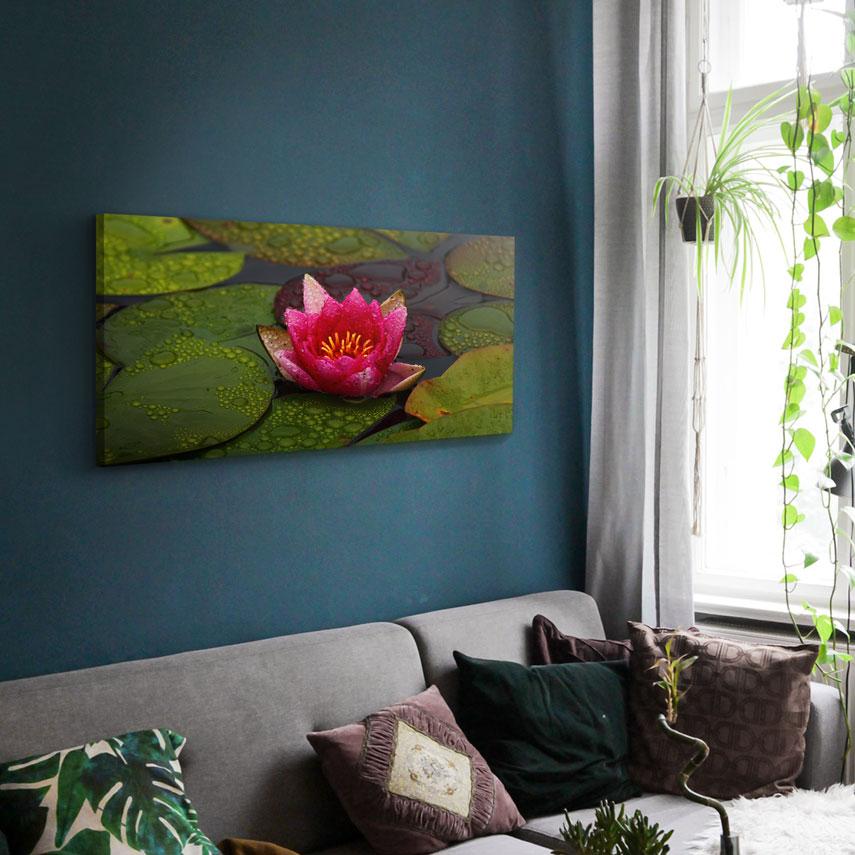 Tablou canvas Floare de Lotus - Pepanza.ro