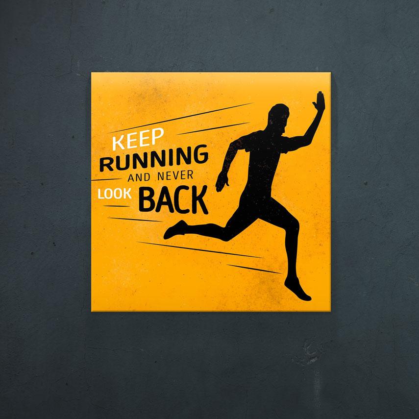Keep running- Pepanza.ro