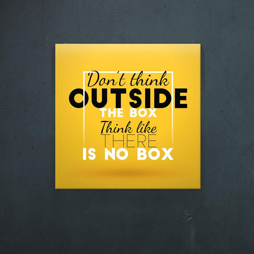 Outside the box- Pepanza.ro