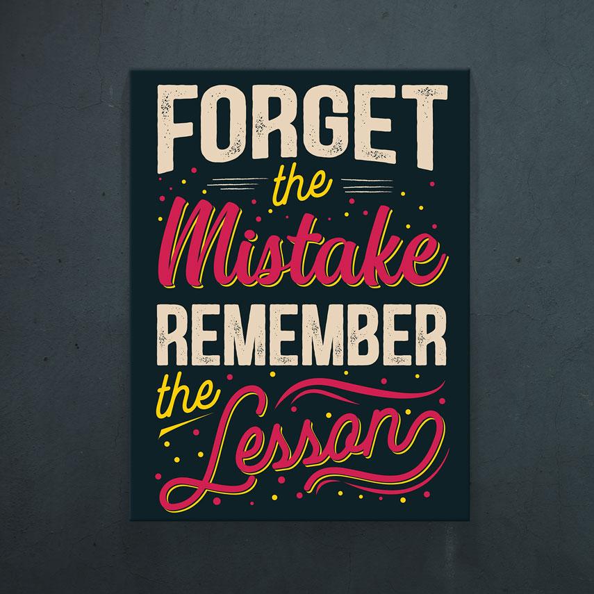 Forget the mistake- Pepanza.ro
