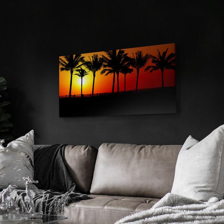 Tablou canvas Peisaj exotic - Pepanza.ro
