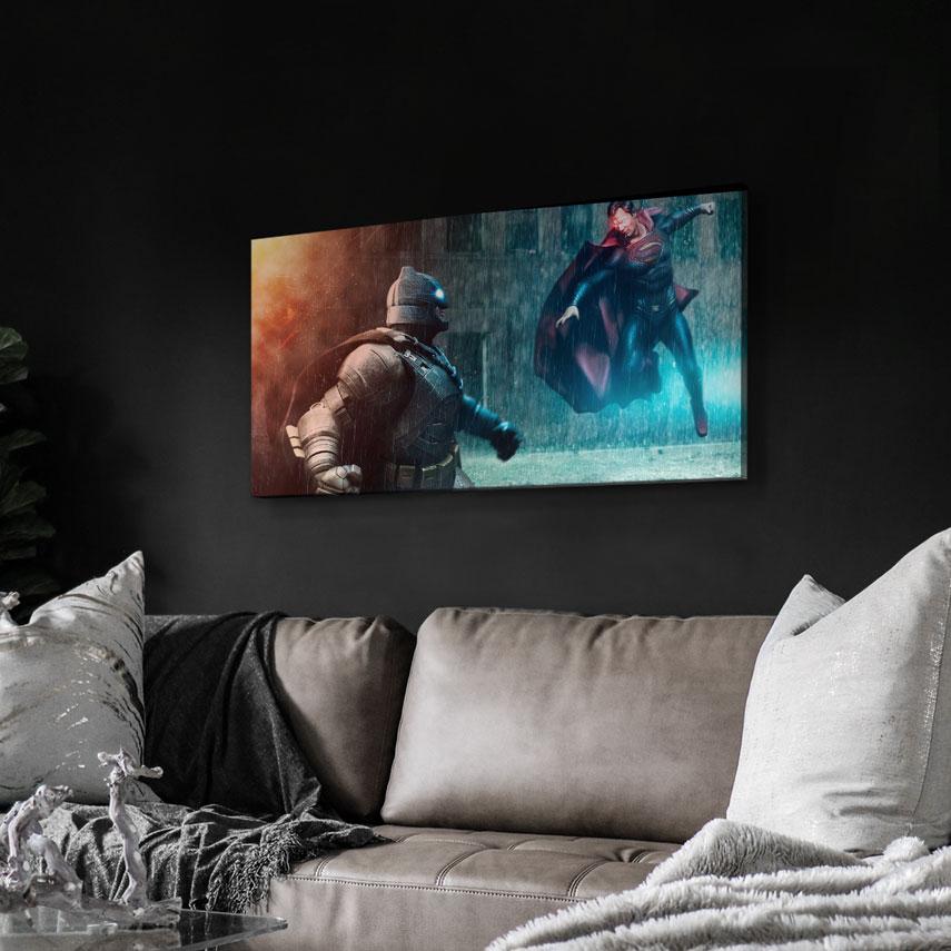 Tablou Filme Batman vs. Superman - Pepanza.ro