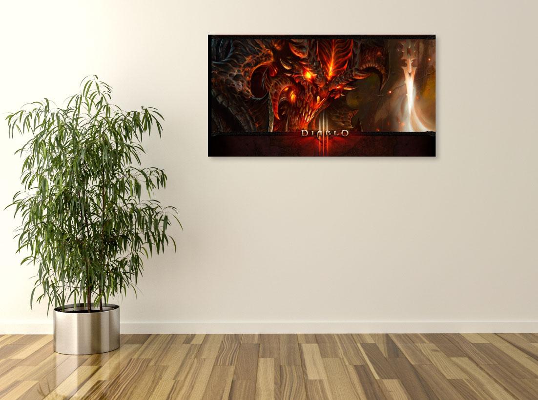 Tablou Jocuri Video Diablo - Pepanza.ro