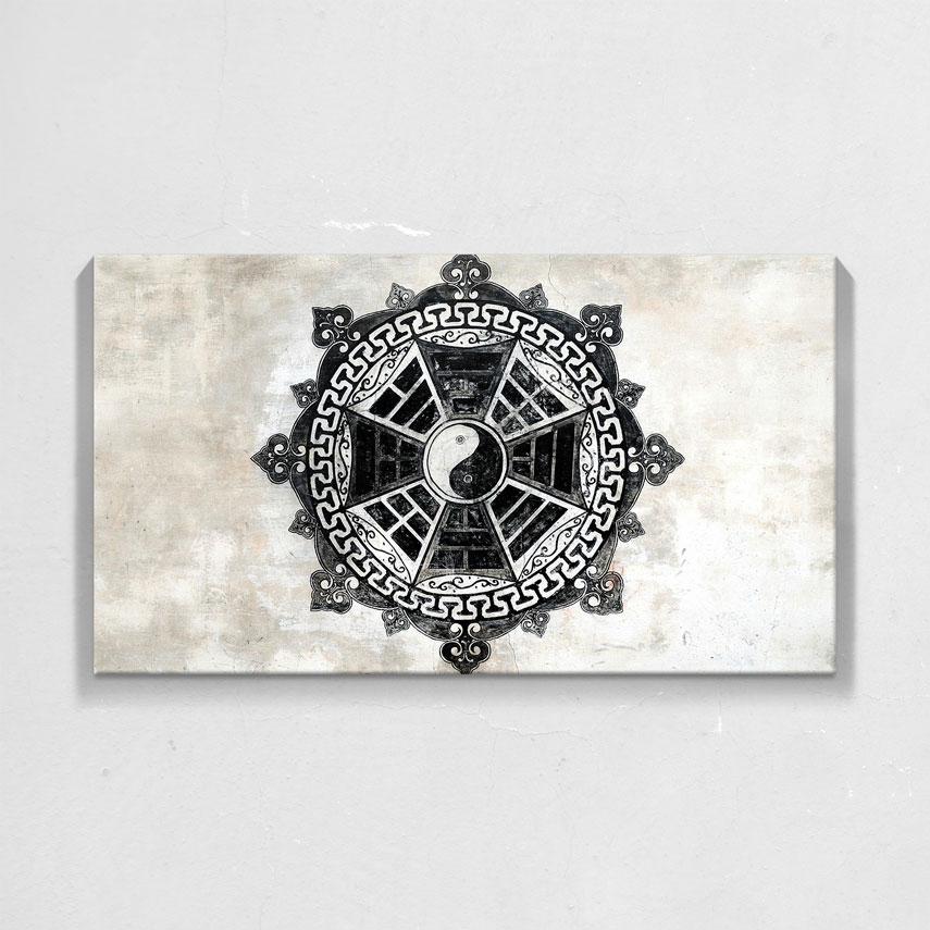 Black and white Yin and Yang- Pepanza.ro