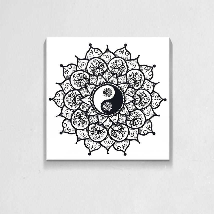 Minimal yin and yang- Pepanza.ro
