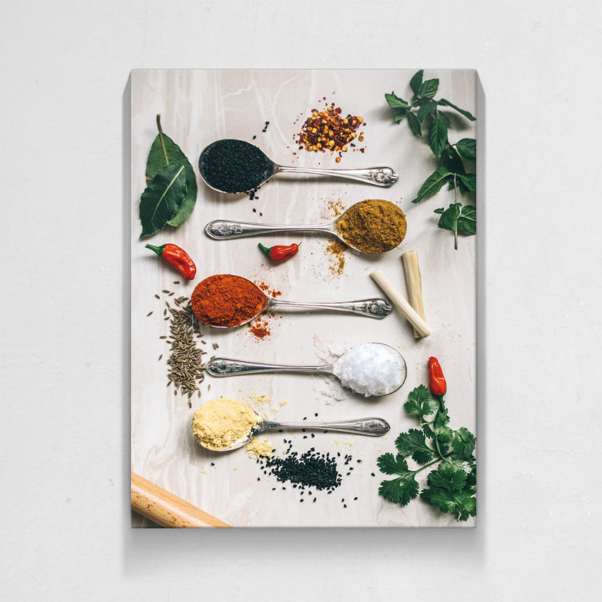 Spoons with spices- Pepanza.ro