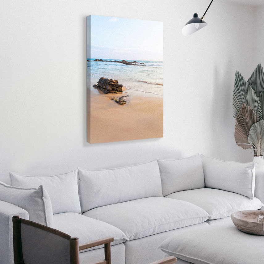 Tablou canvas Plaja pustiita - Pepanza.ro