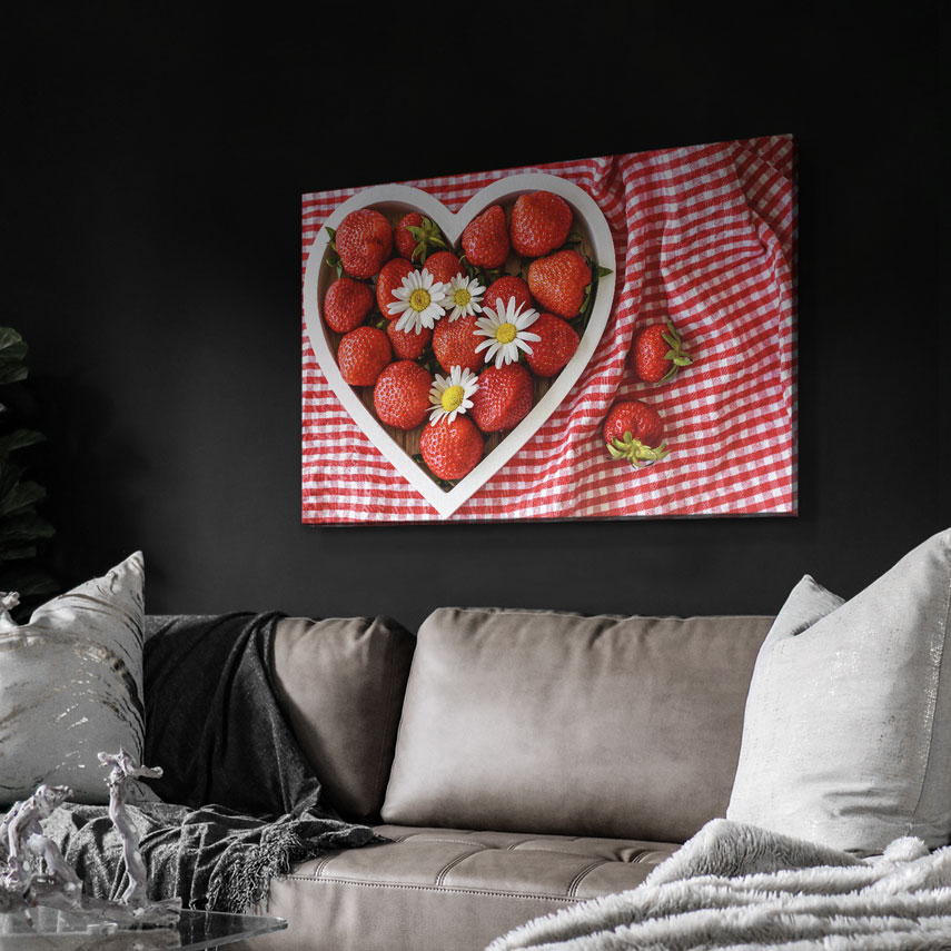 Tablou canvas Căpșună delicioasă - Pepanza.ro