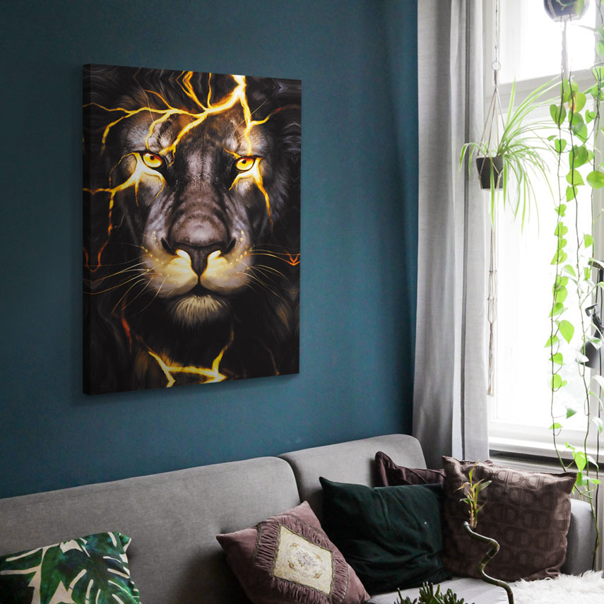 Tablou canvas Lion  - Pepanza.ro