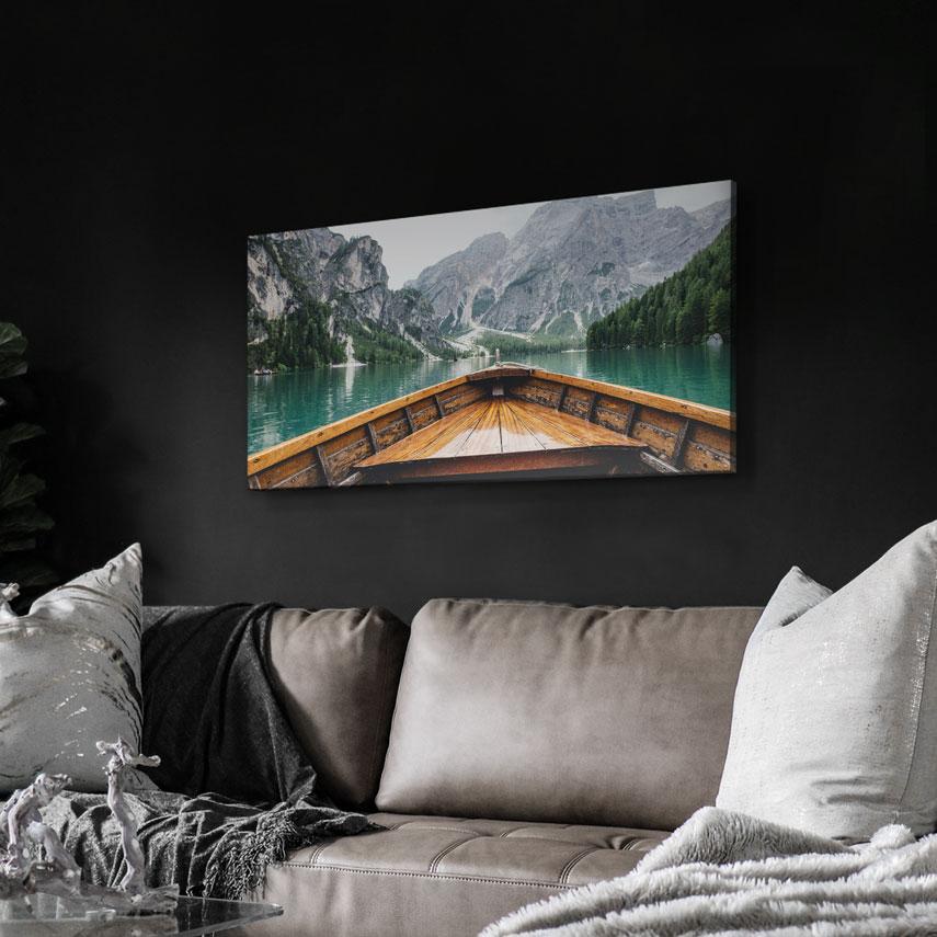 Tablou canvas Plimbare cu barca - Pepanza.ro