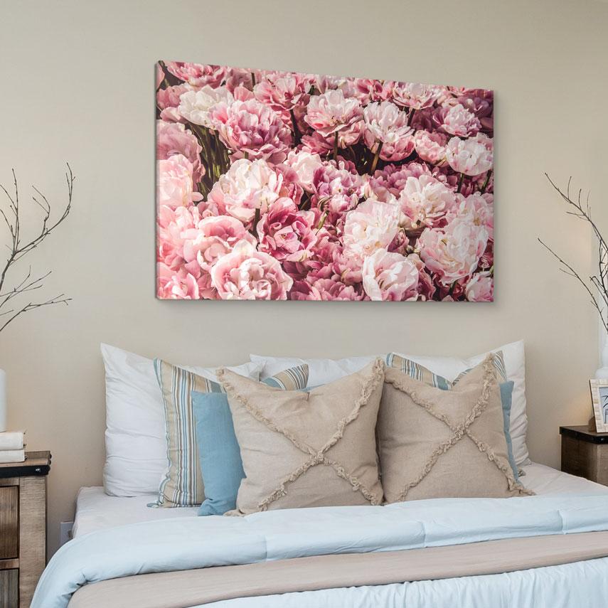 Tablou canvas Flori de Bujor - Pepanza.ro