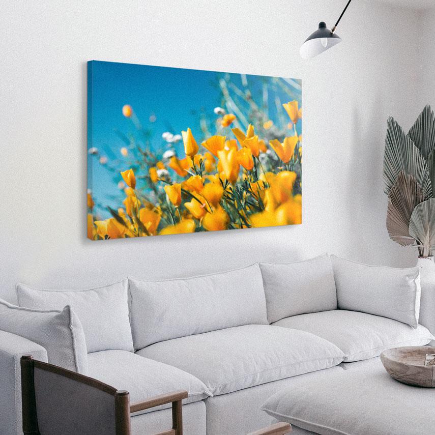 Tablou canvas Lalele galbene - Pepanza.ro