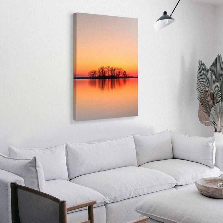 Tablou canvas Peisaj Apus - Pepanza.ro