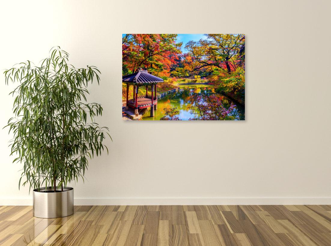Tablou canvas Peisaj de toamna colorat - Pepanza.ro