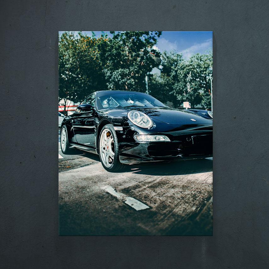 Porsche negru- Pepanza.ro