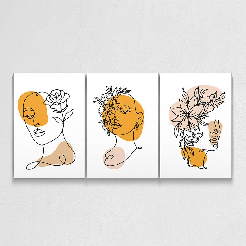 Woman face 3 piese- Pepanza.ro