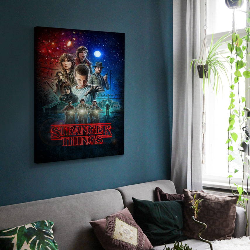 Tablou Filme Stranger Things - One Sheet - Pepanza.ro